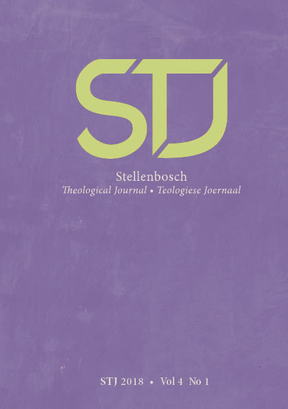 View Vol. 5 No. 3 (2019):  Stellenbosch Theological Journal