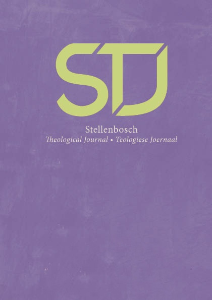View Vol. 7 No. 1 (2021):  Stellenbosch Theological Journal