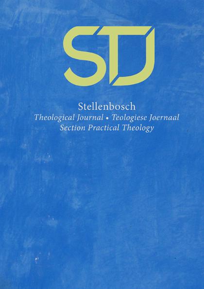 View Vol. 7 No. 2 (2021): Stellenbosch Theological Journal: Section Practical Theology